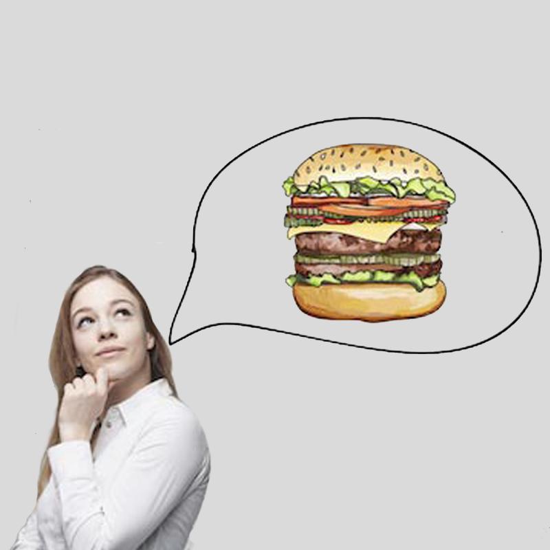 6. Meno cibo